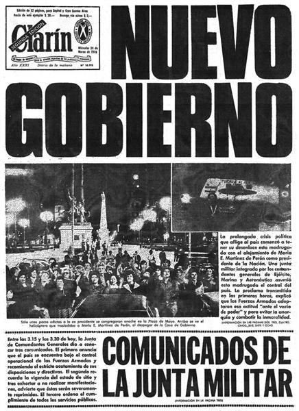 El fin de la dictadura   QUILT